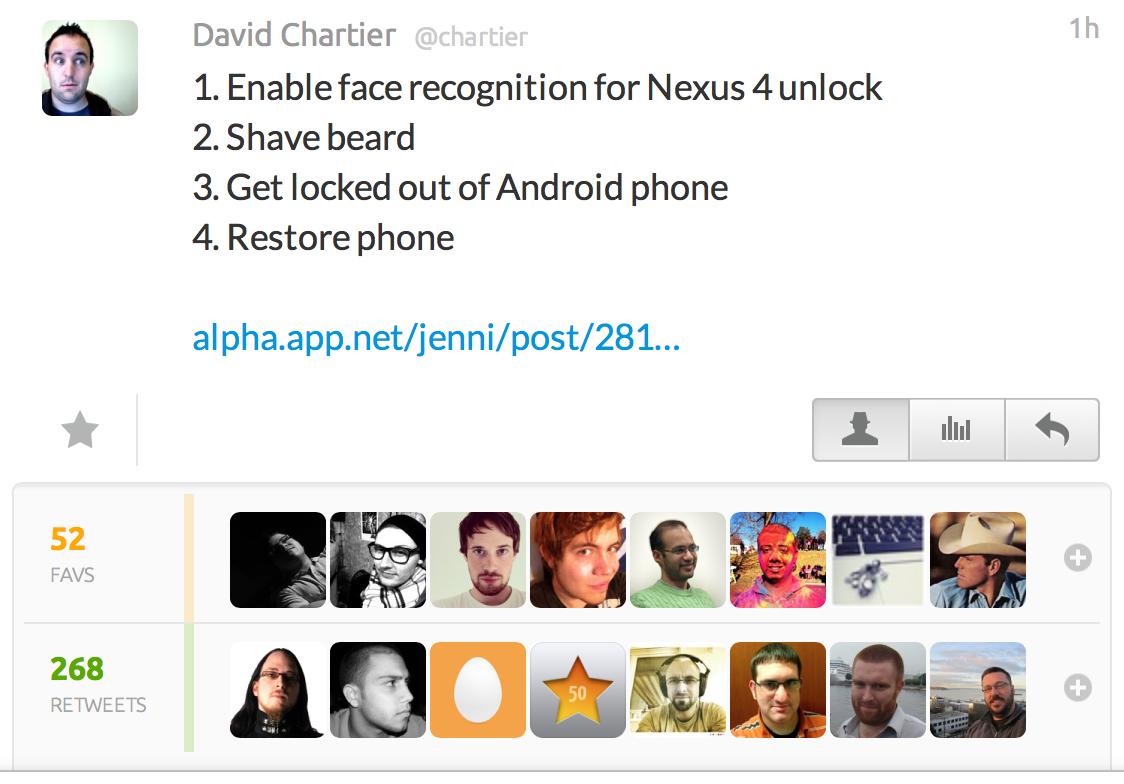 Nexus tweet