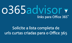Diversos links para o Office 365